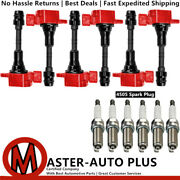 High Performance Engine Ignition Coil And Spark Plug For Nissan Frontier 4.0l V6