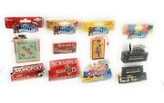 Worlds Smallest Board Game Pack - Scrabble Operations Monopoly And Pictionary