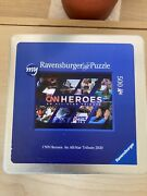 Ravensburger Puzzle 500 Cnn Heroes An All-star Tribute 2020. Rare