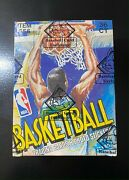 1989 Fleer, Basketball Box In A Bbce Sealed Authenticity Wrap. 21 Jordans