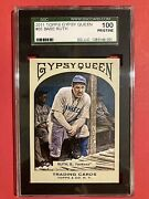 Babe Ruth 2011 Topps Gypsy Queen 65 Pristine Sgc 100 Yankees
