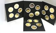 Franklin Mint Africa Wildlife Society Animal Big Game Proof Set 20 Coins Silver