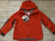 450 Womenandrsquos Nike Acg Gore-tex Misery Ridge Jacket Cv0598-891 Orange/black Large