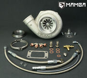 Mamba Ball Bearing Turbocharger 4 .70 Twisted As Gt3582r W/ .73 T3 V-band Hsg