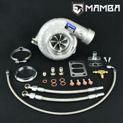 Mamba 7+7 4 A/r.70 Twisted As Ball Bearing Turbocharger Gtx3584r .82 T3 Divided