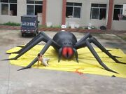 30ft Inflatable Spider Halloween Holiday Decoration With Blower Ax