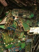Scrap Cellphone Boards And Gold Ribbons 40lbs