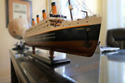 In Stock Rms Titanic Wooden Model, 31.5 Inches