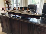 Rms Titanic Wooden Model, 40 Inches, Ultimate Gift Nautical White Star Line