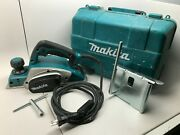 Makita Tools Electric Planer 6.5a 17000rpm 82mm 3 1/4 120v Kp0800 With Case