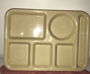 Vintage Silite Melamine School Cafeteria Lunch Divided Trays 614 Chicago Il
