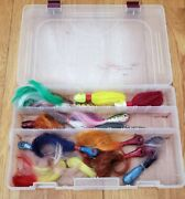 Vintage And Recent Lot Salt Water Fishing Lures Jigs-spro And Vintage Home Made