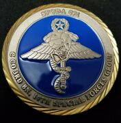 Us Army Special Forces A-team Coin Oda 021 C Co 3rd Bn 10th Special Forces Group