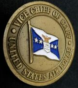 Us Air Force Vice Chief Of Staff Challenge Coin
