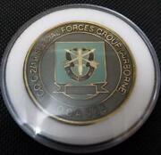 Us Army 2/19 C Co Sfg A Oda-965 19th Special Forces Group Airborne 2nd Batta