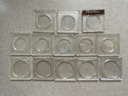 Mixed Lot Coin Cases Holders Kennedy Half And Morgan Dollar