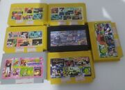 Old Stock Rare Vintage Famiclone Old Chips Famicom Nes Cartridge Games 7 Pcs