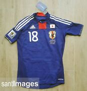 Adidas Japan National Football 2010 Wc Home Authentic Jersey Formotion 18.honda