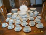 Kayson China Rhapsody 1961 Vintage Dinnerware Bell Floral 98 Piece Grouping