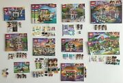 Lego Friends Minifigs Animals Stickers Instructions 41037 41038 41349 + Lot