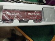 Mth Premier O Scale Freight Cars Western Maryland Reefer