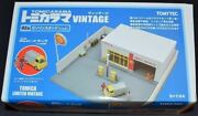 Unused Tomica Limited Vintage 02a Gas Station Shell Finished Product / Tomica