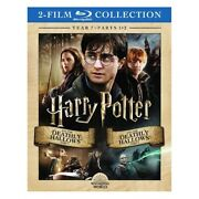 Harry Potter-deathly Hallows Part 1and2 Blu-ray/year 7/2 Film Collection