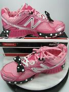 New Balance 860 Disney Run 2014 Minnie Mouse Shoe Pink And White Size 3.5 Us New