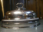 Antique Large Silver Matthew Boulton Old Sheffield Meat Cover Dome 19th Century
