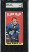 1964 Topps Johnny Bower 40 Tall Boy Sgc 8.5 Psa Crossover Candidate
