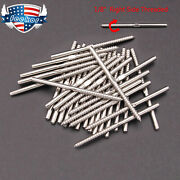 T316 Stainless Steel Swage Lag Screw Stud Right Threaded Fits 1/8 Cable Railing