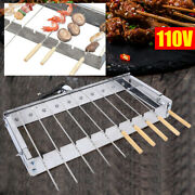 Electric Automatic Bbq Barbecue Outdoor Grill Roaster Electric Indoor Bbq Shelf