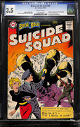 Brave And The Bold 25 Cgc 3.5 Dc 1959 1st Suicide Squad Key Silver L12 122 Cm