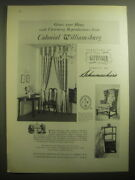 1959 Kittinger Furniture With Schumacher Fabric Advertisement - Grace Your Home