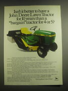 1981 John Deere 111 Lawn Tractor Ad - Isnand039t It Better To Have A John Deere