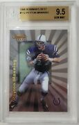 1998 Peyton Manning Bowmanand039s Best Rookie Card Rc Bgs 9.5 Gem Mint 112 3 10and039s