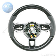 Oem Porsche 991.2 Gt3 Rs Cayman 718 Boxter Carbon Agate Leather Steering Wheel