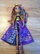 Monster High Clawdeen Wolf 13 Wishes Doll Mattel Ghould Retired 2009 Rare