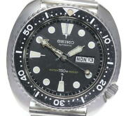 Seiko 3rd Diver 150m 6306-7001 Day Date Black Dial Automatic Men's Watch_601945