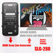 Hdmi Scan Line Generator Scanner Led Light For Switch/xbox One/ps4/ps3 Games