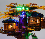Usb Lighting Kit For A House With A Tree 21318 Only Led Lighting Kit Ideas