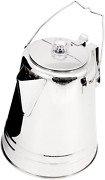 Outdoors Glacier Stainless Steel Percolator Coffee Pot Ultra-rugge 14 Cup 2 L
