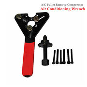 A/c Compressor Clutch Remover Air Conditioner Ac Automotive Wrench Puller Tools