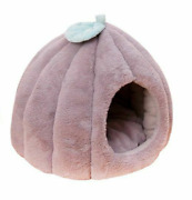 Indoor Dog House Warm Cave Cushion Winter Bed Pet Kennel Soft Large Sofa Plush