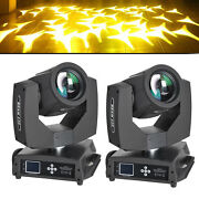 2pcs 230w 7r Zoom Moving Head Light Gobo Beam 16ch 8 Prism Dmx Dj Party Lighting