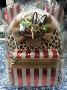 Disney Minnie Mouse Main Attraction Jungle Cruise Backpack Loungefly New In Hand