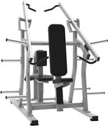 French Fitness Napa P/l Iso-lateral Chest/back Combo New