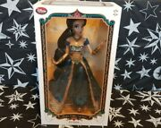 Disney Store Aladdinand039s Princess Jasmine Limited Edition Doll 2015 Sold Out