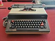 Facit 1845 Electric Typewriter   Made In Sweden   Superbly Rare   Motor Is 99