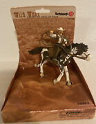 Schleich Wild West - Cowboy With Lasso On Horse Mib New 70303 Incredible Detail